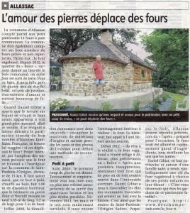 Article du Journal La Montagne